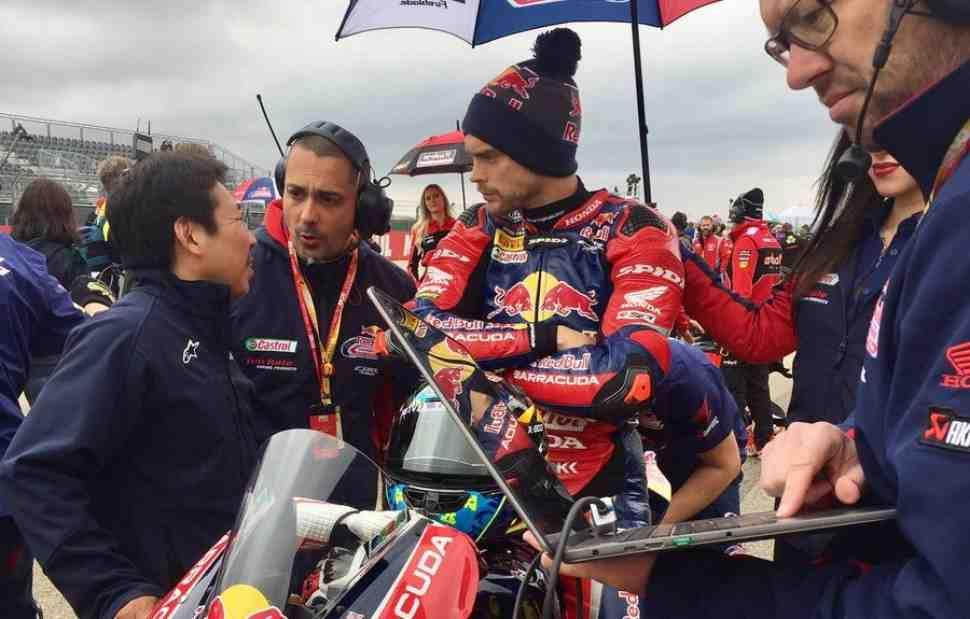 AragonWorldSBK остановлена красными флагами из-за массовой аварии в 11 повороте