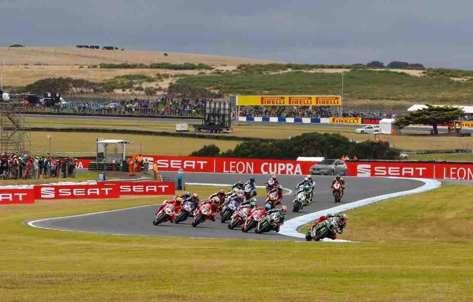 Dorna решила отложить внедрение формата triple-header в World Superbike