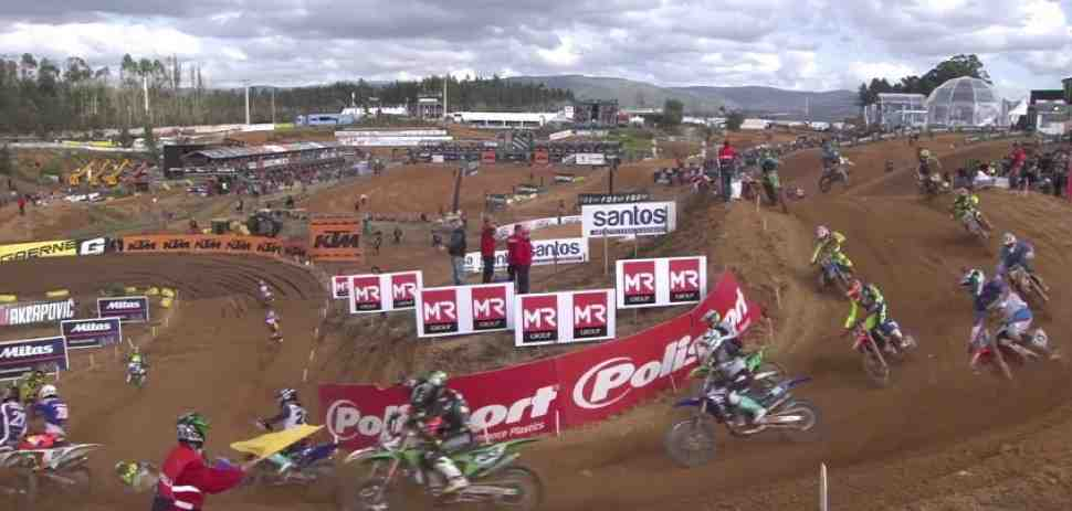 Мотокросс: видео квалификаций Гран-При Португалии MXGP/MX2 - Agueda