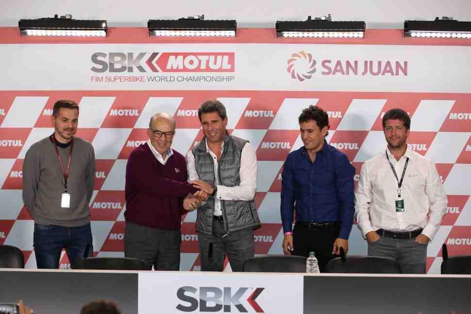 Официально: World Superbike едет в Аргентину в октябре 2018 года