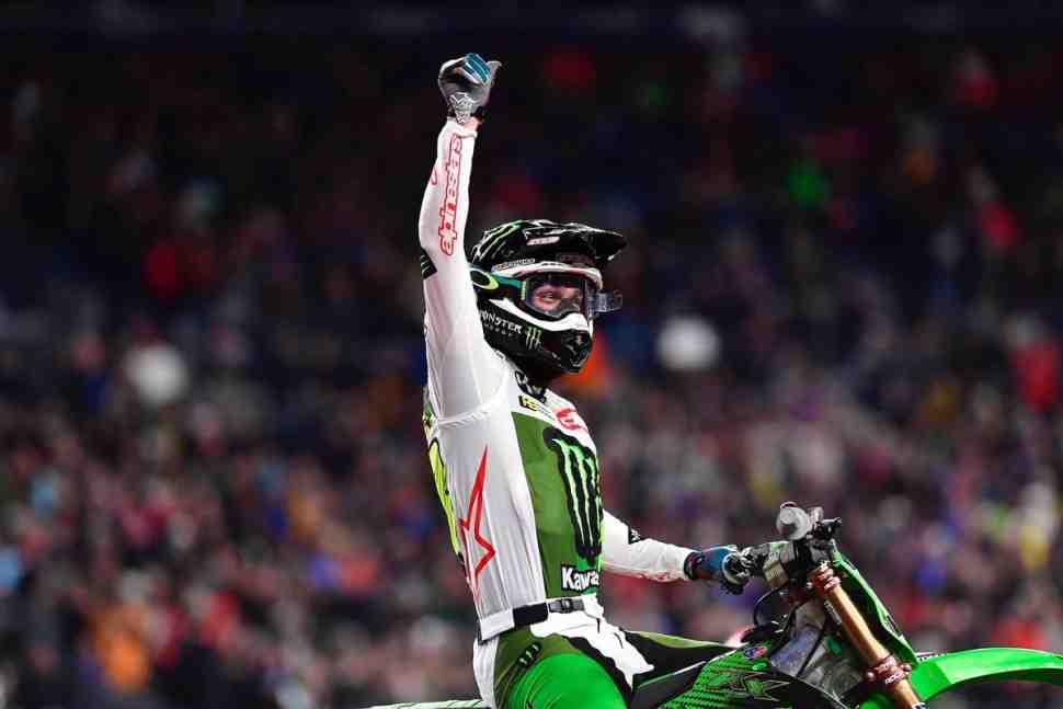 AMA Supercross: отличная работа, Элай Томак! Результаты 15 этапа в Денвере