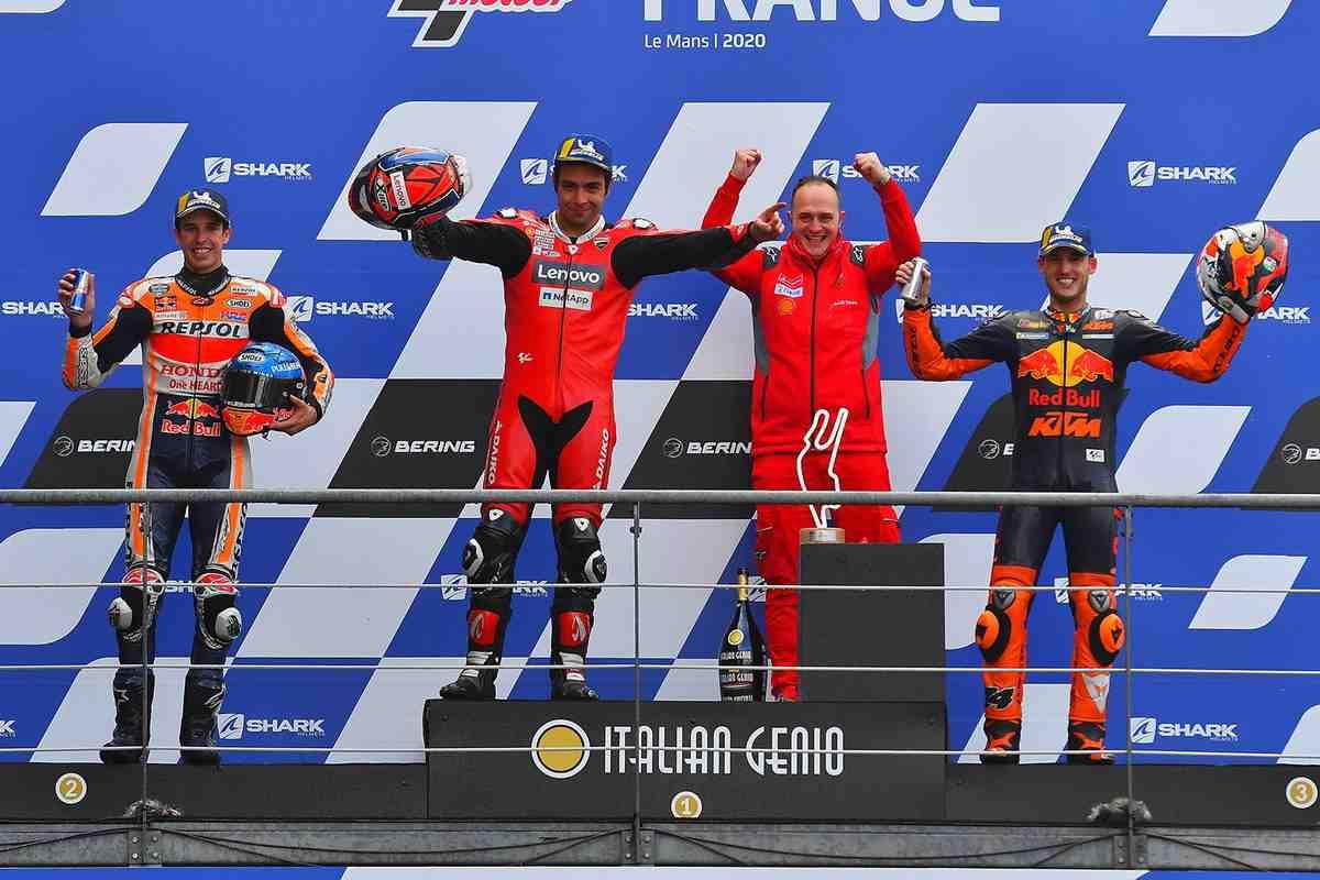 Ключевые тезисы перед FrenchGP: кому из пилотов MotoGP дождь в Ле-Мане может принести удачу?