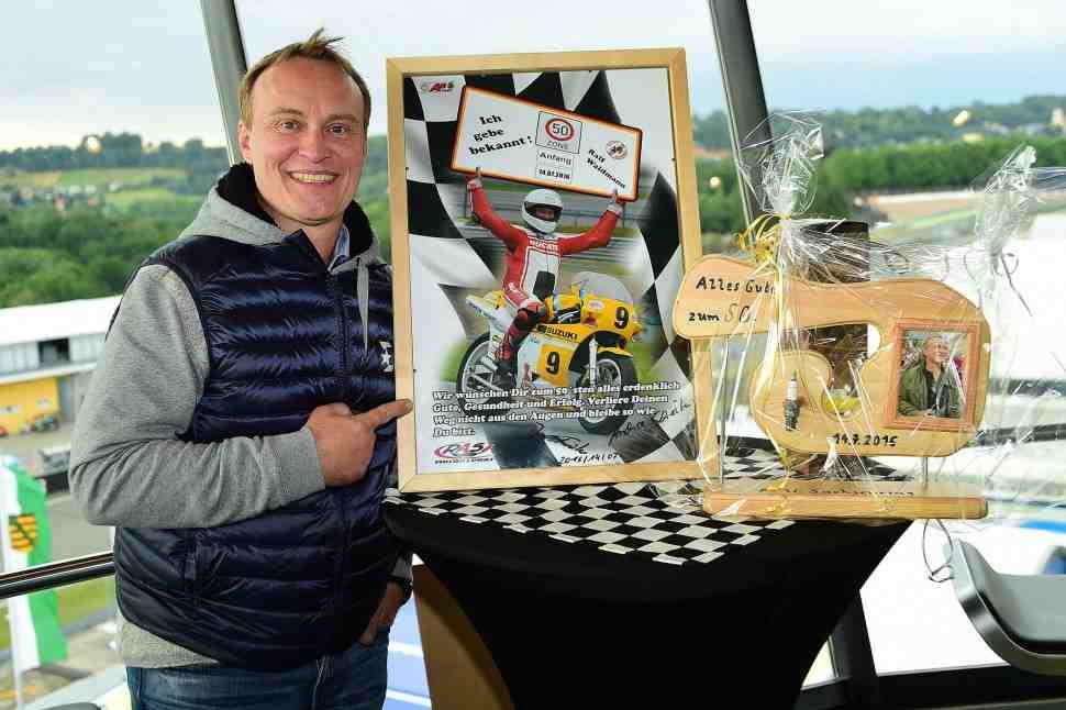 11-й поворот Sachsenring назовут именем Ральфа Вальдмана