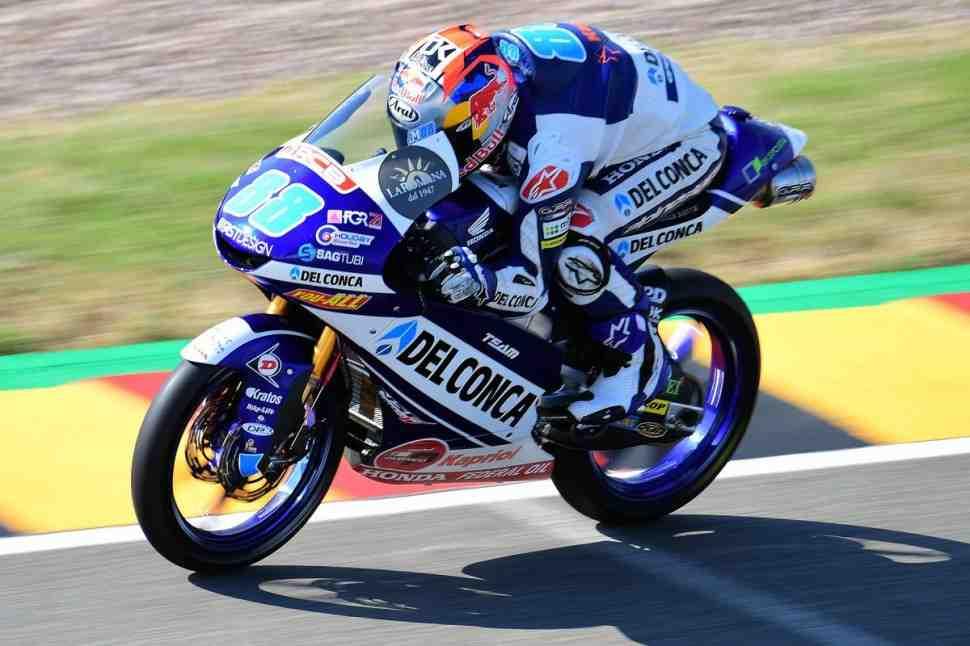 Moto3: Хорхе Мартин стартует с поул-позиции в Sachsenring