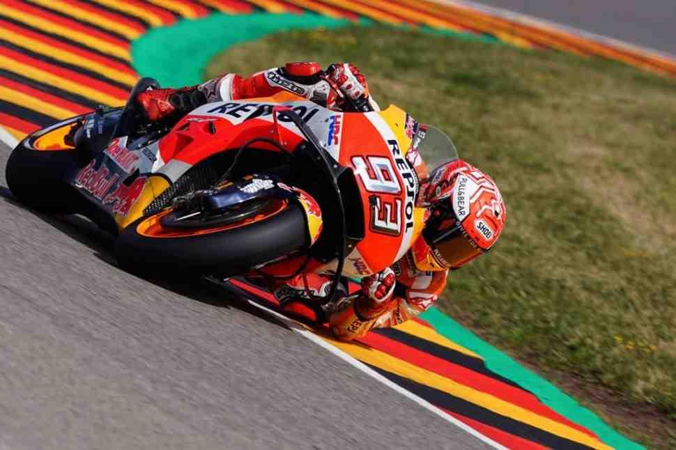 MotoGP: результаты квалификации Гран-При Германии