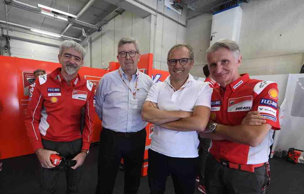 Босс Формулы-1 Росс Браун высоко оценил уровень MotoGP