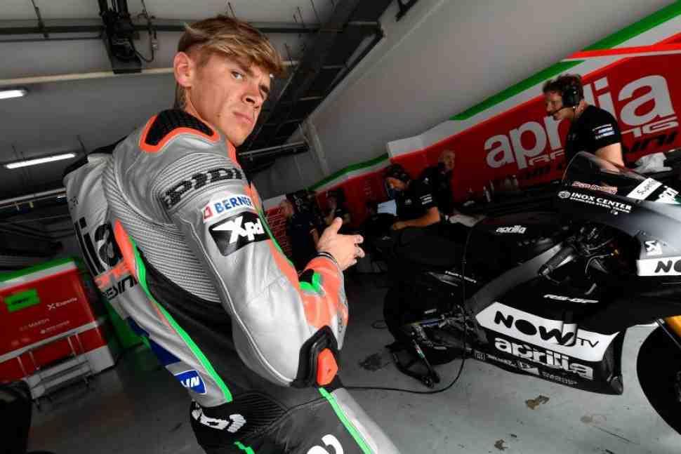 MotoGP: Реддингу пришлось извиняться перед Aprilia за воскресное интервью