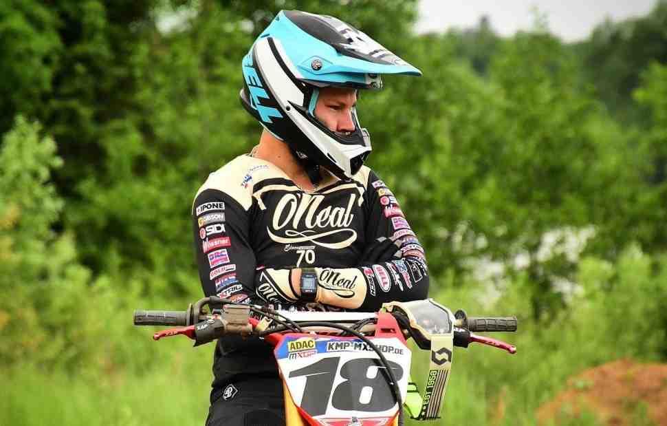 Мотокросс: Всеволод Брыляков - из Орленка на чемпионат Германии ADAC