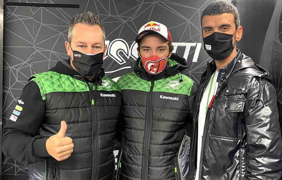 �������� ����� ������ Puccetti Kawasaki � World Supersport 2021 ����