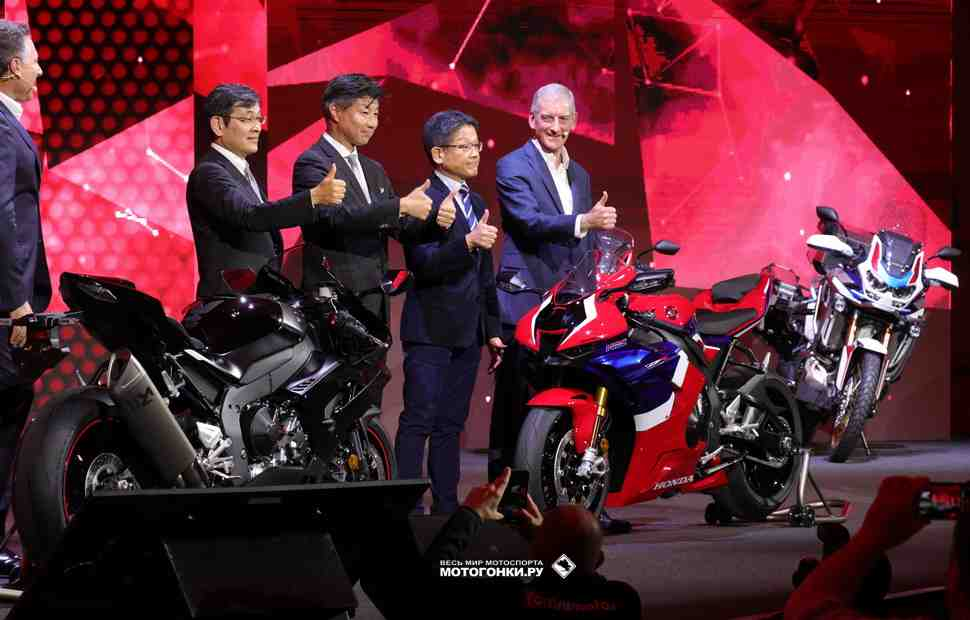 Объявлена цена на новый Honda CBR1000RR-R Fireblade и Fireblade SP