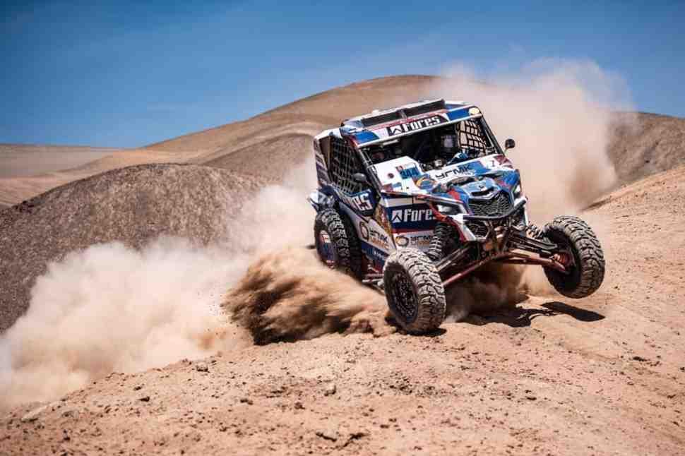 Дакар-2019: Сергей Карякин продолжит гонку после аварии на СУ7 - положение в классе SxS