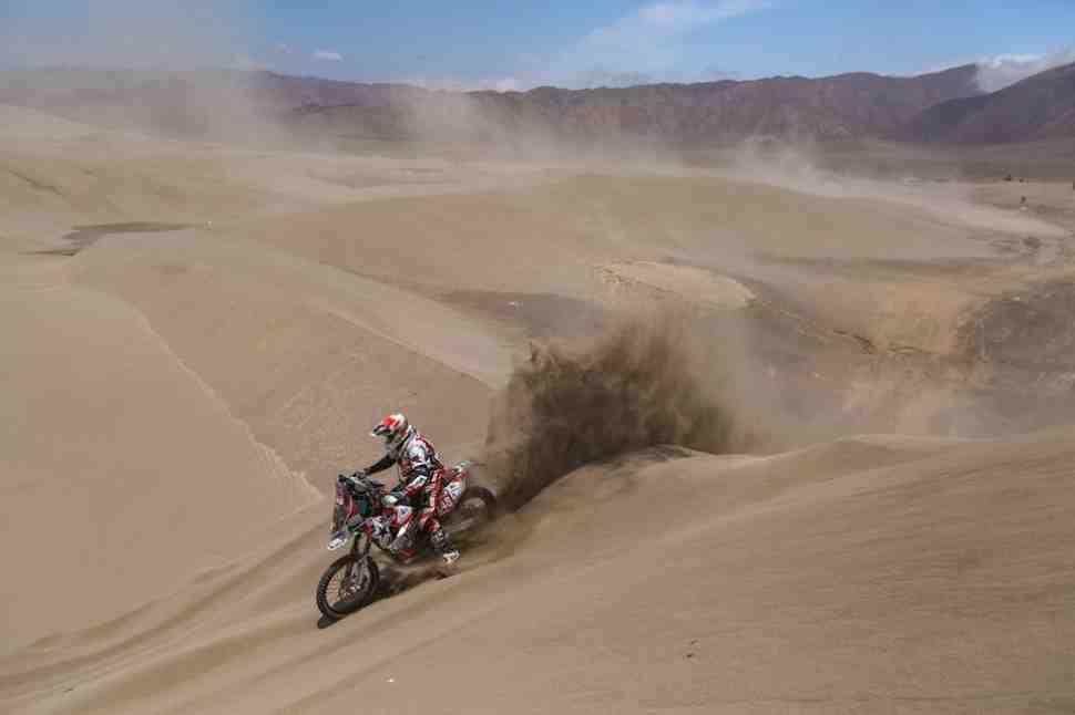 Дневники участников Dakar-2019: Дмитрий Агошков, день седьмой и восьмой - рубимся через дюны