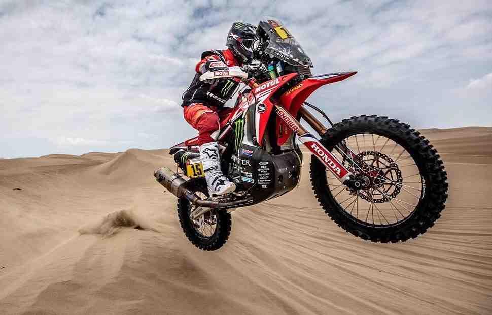Honda вновь возглавила схватку четырех заводов на Дакар-2019: МОТО - итоги СУ7 в категории МОТО
