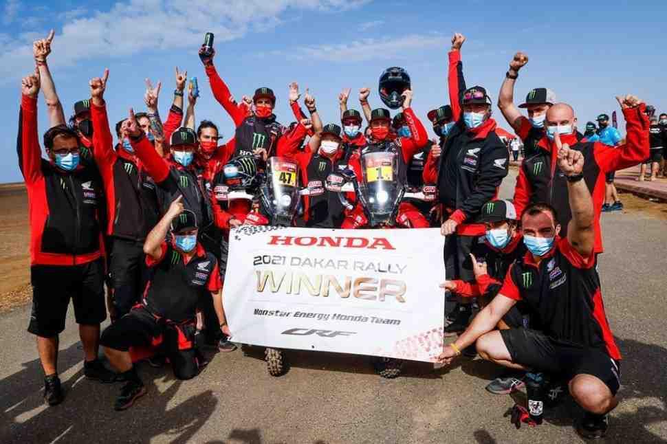 Honda выигрывает ралли Дакар 2021 года