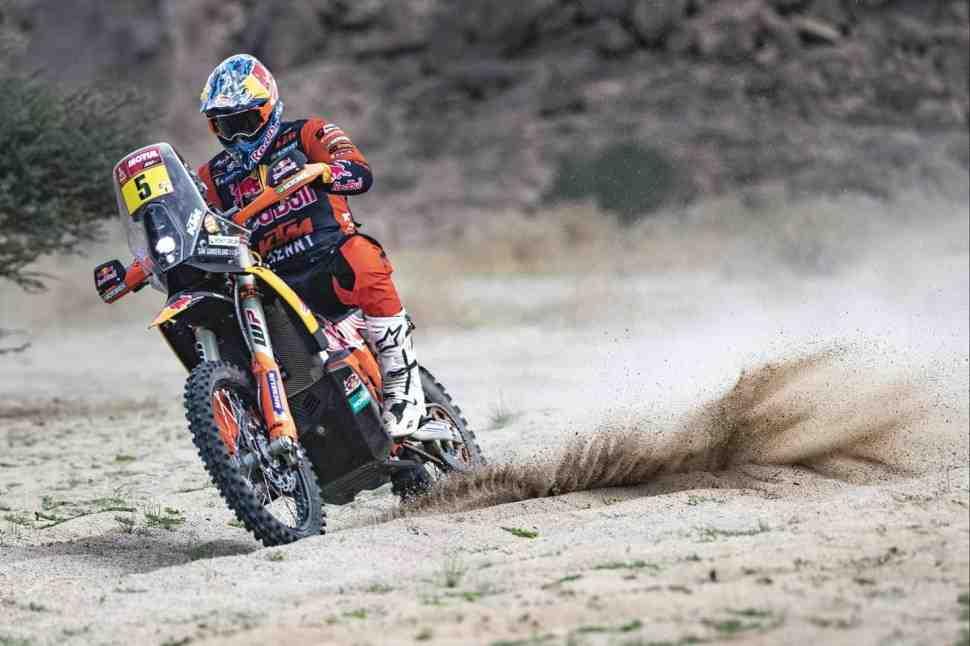 KTM занимает три позиции в ТОП-5 по итогам ралли-марафона Дакар 2021 года