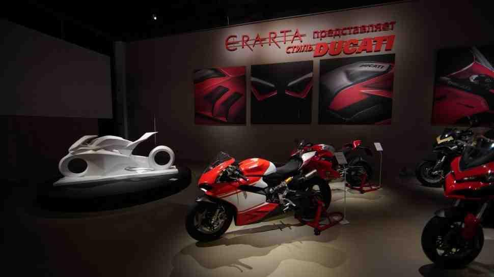 Стиль Ducati как музейный экспонат: в Санкт-Петербурге открылась особая выставка