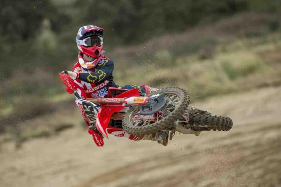 Мотокросс: Тим Гайзер вернется на старт MXGP в Валькенсварде
