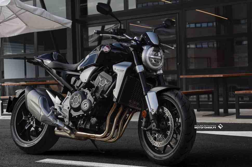 Стала известна цена Honda Neo Sport Cafe в России