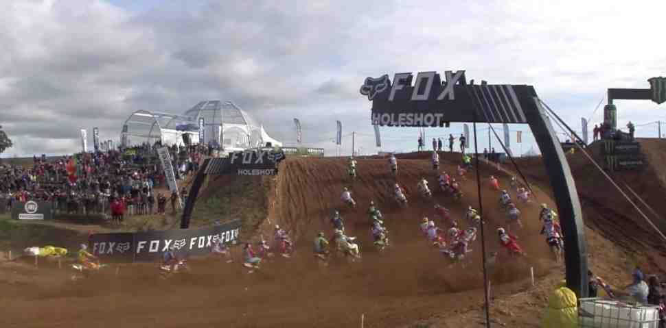 Мотокросс EMX250: первая победа у Матиса Бойрама - суббота в Agueda
