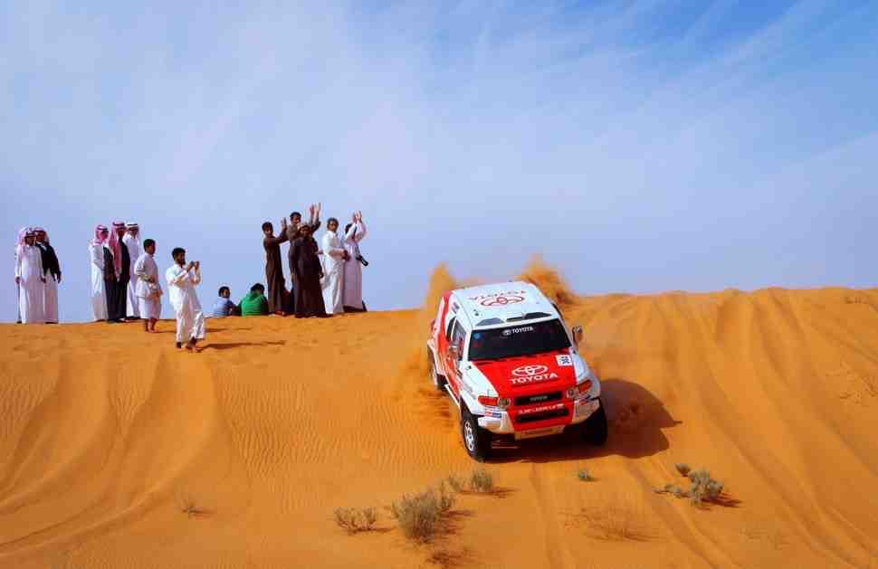 Официально: Ралли Дакар переезжает в Саудовскую Аравию