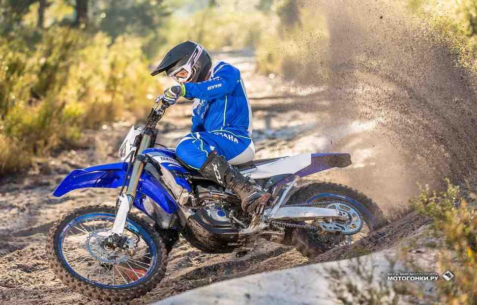 Yamaha WR450F обновлен: мотоцикл 2019 года заточен под кантри-кросс
