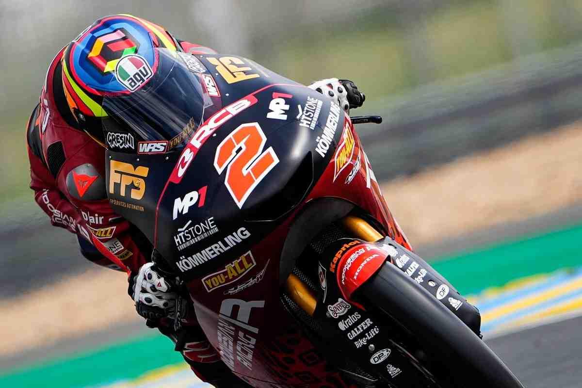 Габриэль Родриго остается лидером FrenchGP в классе Moto3 после FP3