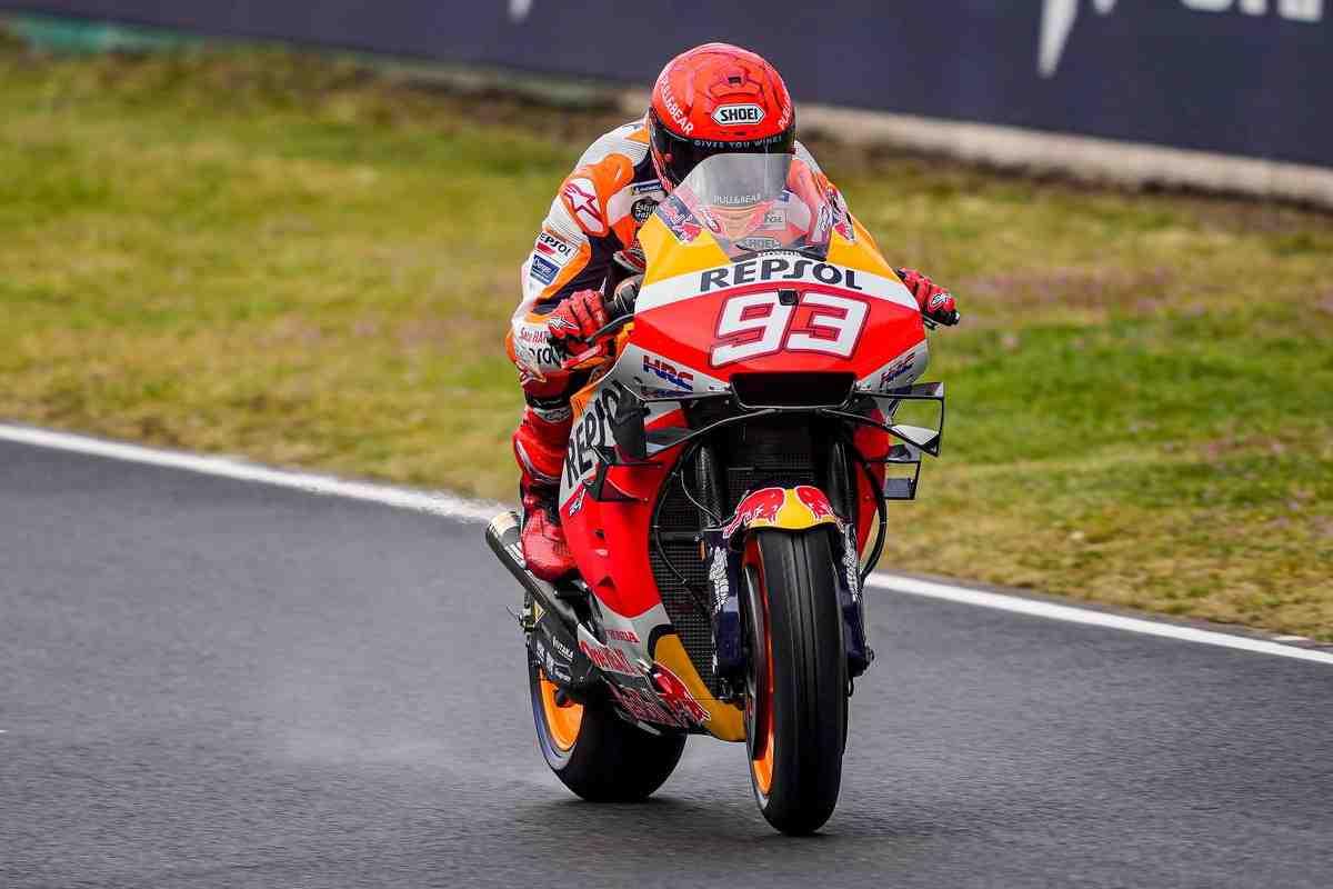 MotoGP: Жоан Зарко остается лидером FrenchGP, Марк Маркес возглавляет дождевой день после FP3