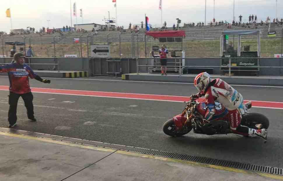 EWC - Борьба до последнего: видео - жуткий крэш и возвращение Honda Endurance в Ошерслебене