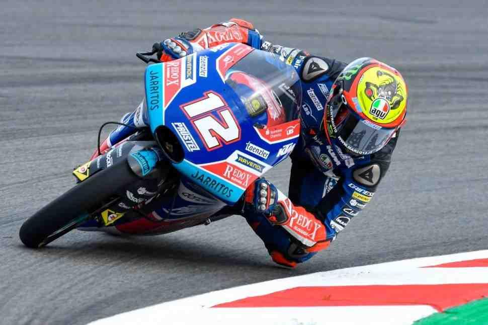 Moto3: итоги пятницы CatalanGP - результаты FP1 и FP2
