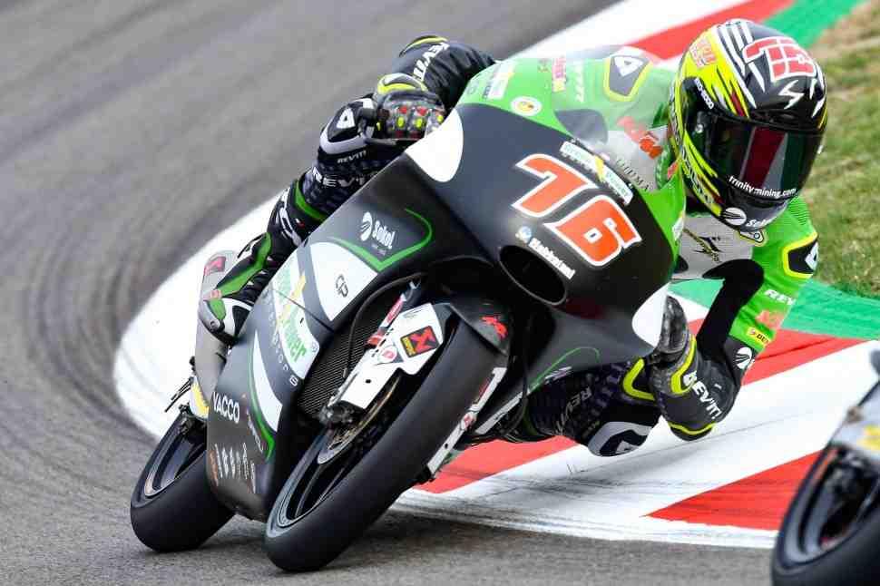 Moto3: Макар Юрченко - о первом дне Гран-При Каталонии
