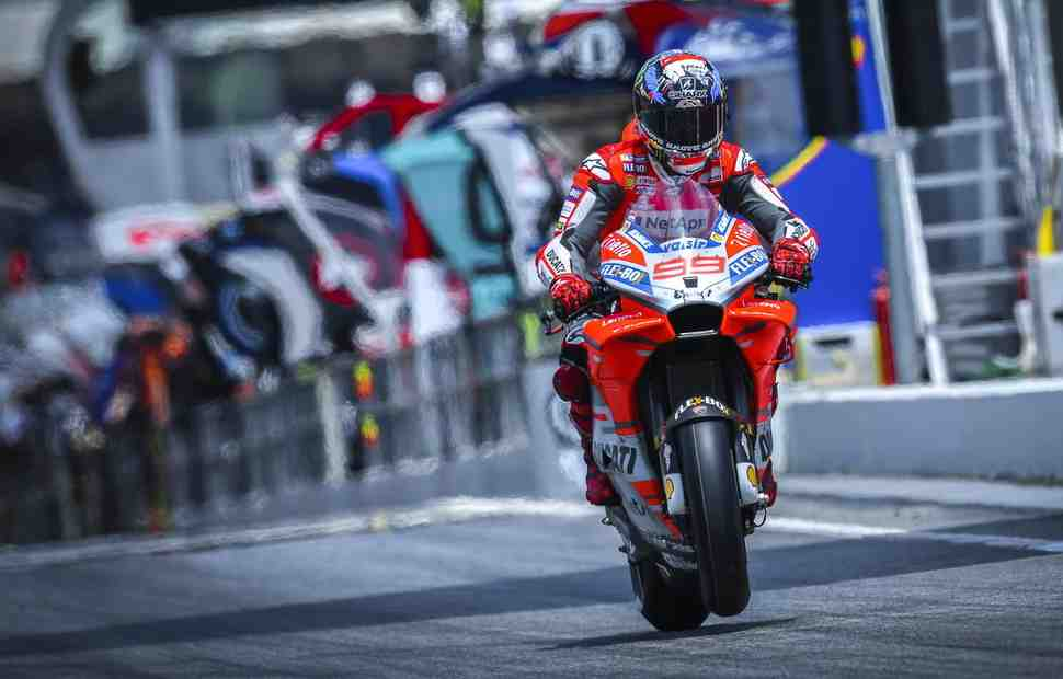 MotoGP: Лоренцо завершил пятницу CatalanGP с новым рекордом круга внутри 1:38
