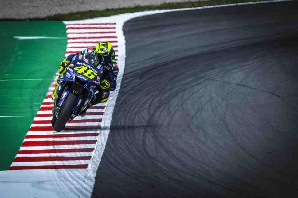 MotoGP: Валентино Росси возглавил FP1 Гран-При Каталонии