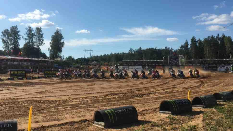 Мотокросс: видео квалификаци Гран-При Латвии MXGP/MX2 - Кегумс