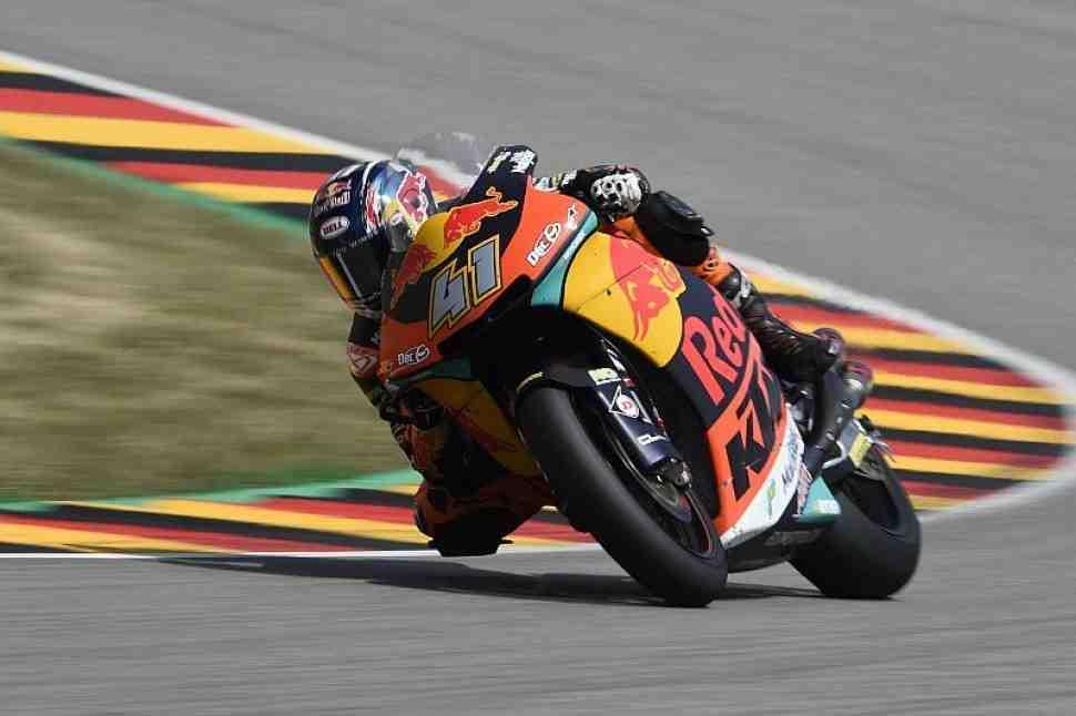 Moto2: Результаты Гран-При Германии, 9-й этап Чемпионата Мира