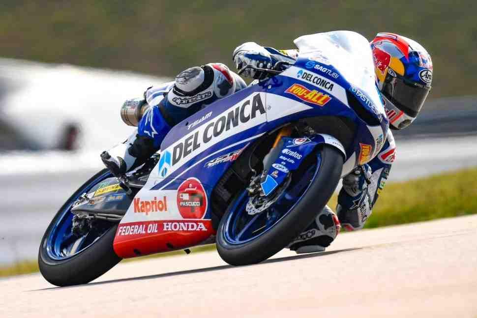 Moto3: Хорхе Мартин выигрывает зубодробительную гонку за Гран-При Германии