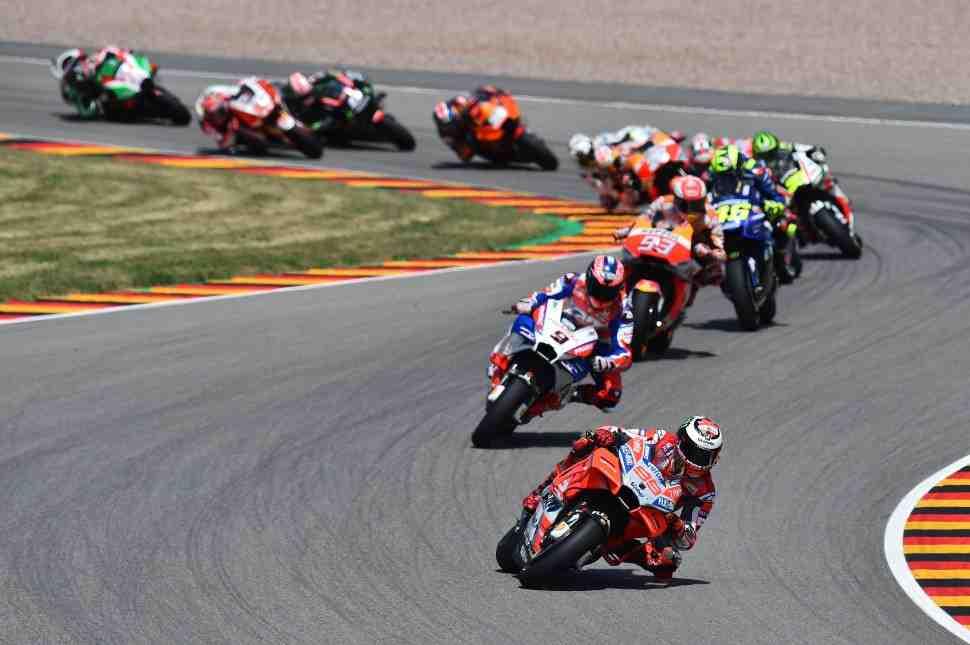 MotoGP: Лоренцо не хватило сил для победы в Германии