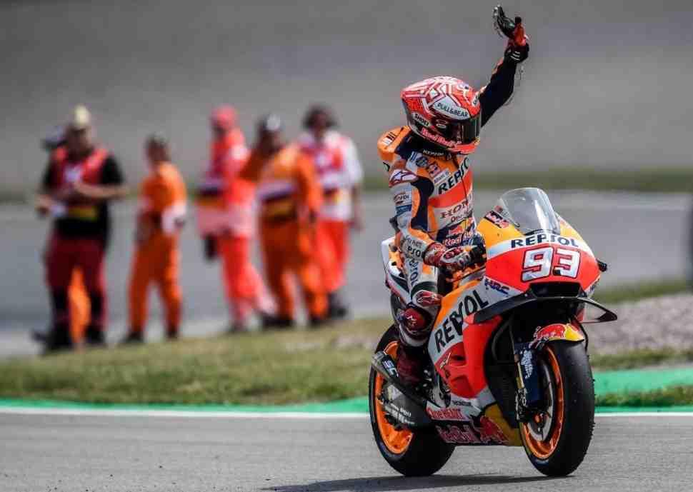 MotoGP: Маркес оформил прощальную «9» на Sachsenring