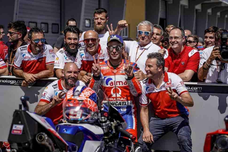 MotoGP: Петруччи признал, что использовал Лоренцо для разгона на квалификации в Германии