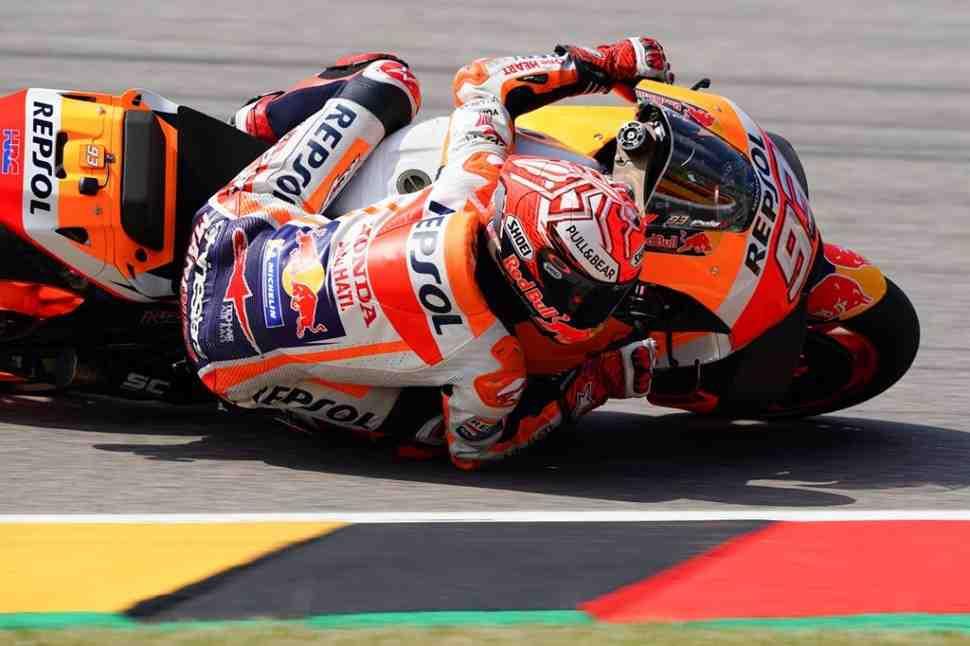 MotoGP: Результаты Гран-При Германии, 9-й этап Чемпионата Мира