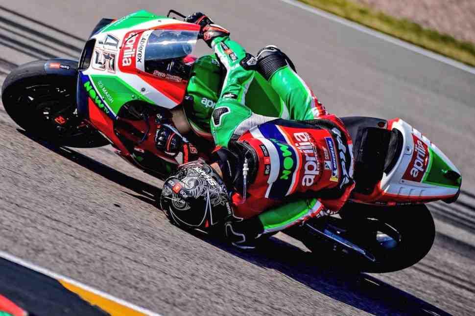 MotoGP: Скотт Реддинг поработал головой в Sachsenring