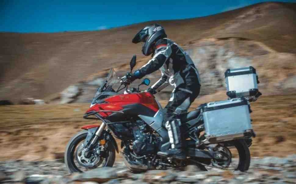 Мотоциклы VOGE 500DS Adventure испытают мотопробегом Москва-Владивосток: подробности