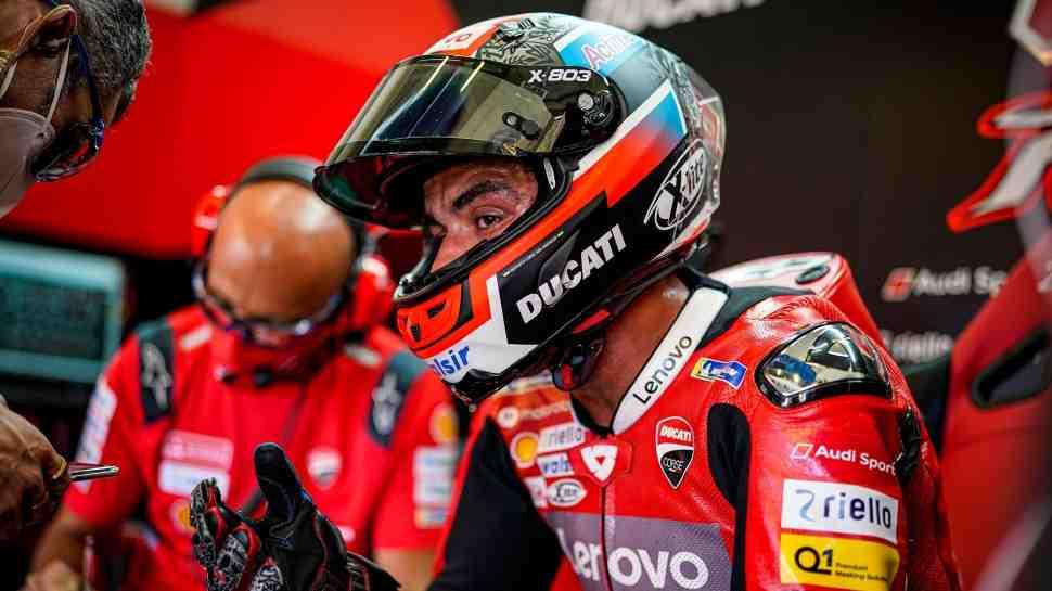 MotoGP: Данило Петруччи не пострадал при аварии, но должен пройти повторный тест в четверг