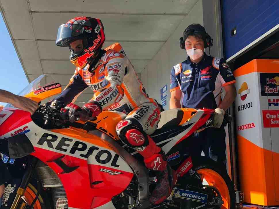 Результаты первой части тестов MotoGP в Хересе: представители Honda, Suzuki и Yamaha в ТОП-3