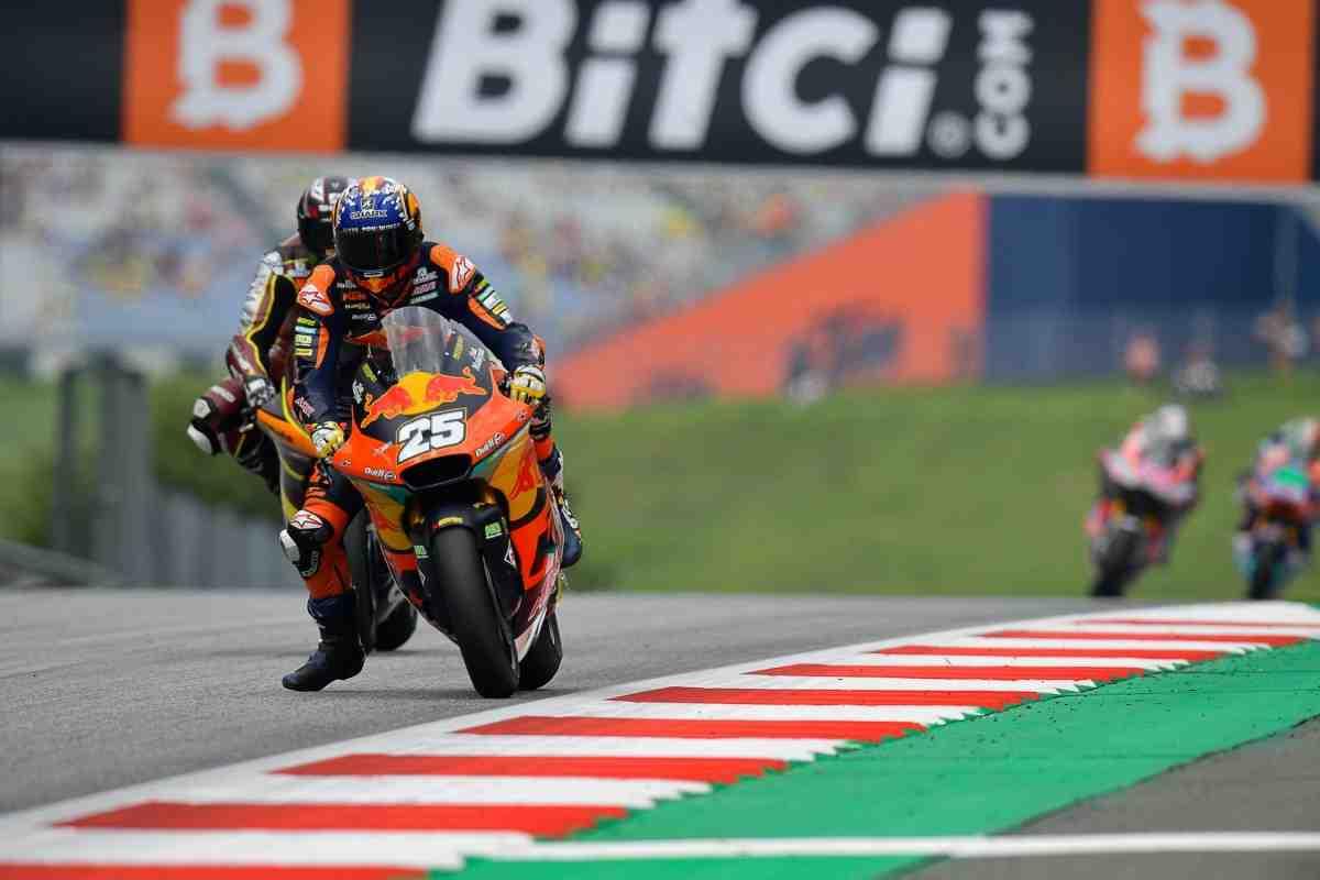 Moto2: Рауль Фернандес сокращает отставание от Гарднера в чемпионате после победы в AustrianGP