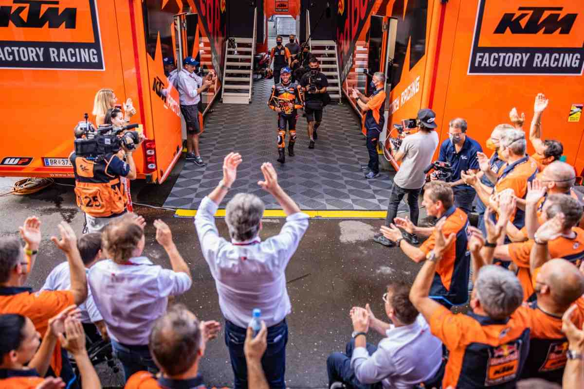 MotoGP - Гран-При Австрии: Qui audet adipiscitur