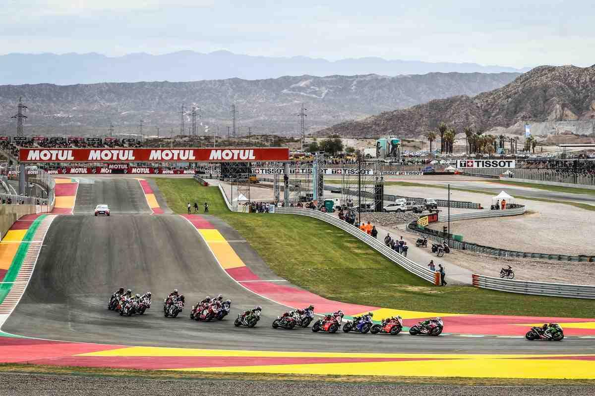 World Superbike ���-���� ���� � ���������: Dorna �������� �������� � Circuito San Juan Villicum