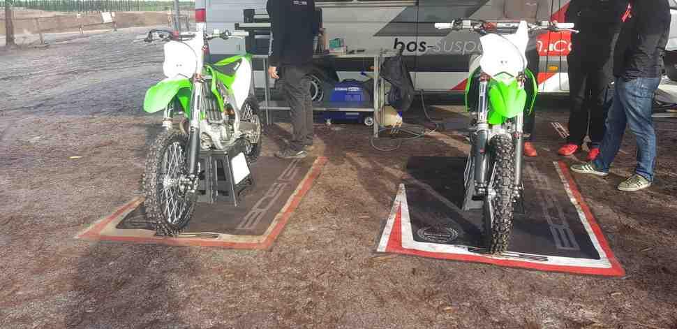 Мотокросс MXGP: Евгений Бобрышев о первых тестах Kawasaki KX450F с BOS GP (+видео)