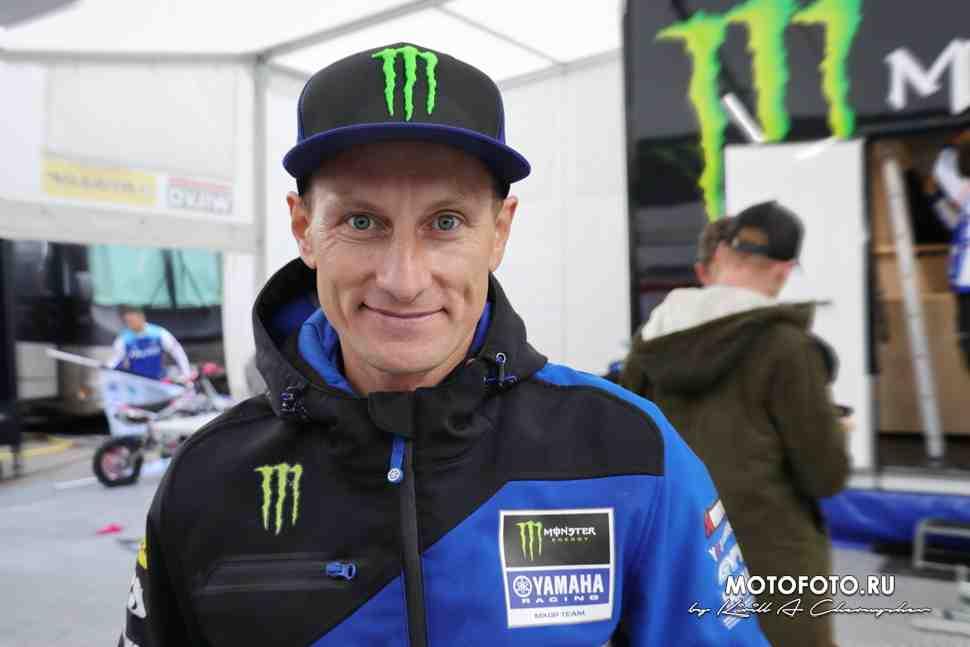 Первый русский MXGP: Виталий Тонков занял высокий пост в Yamaha Racing