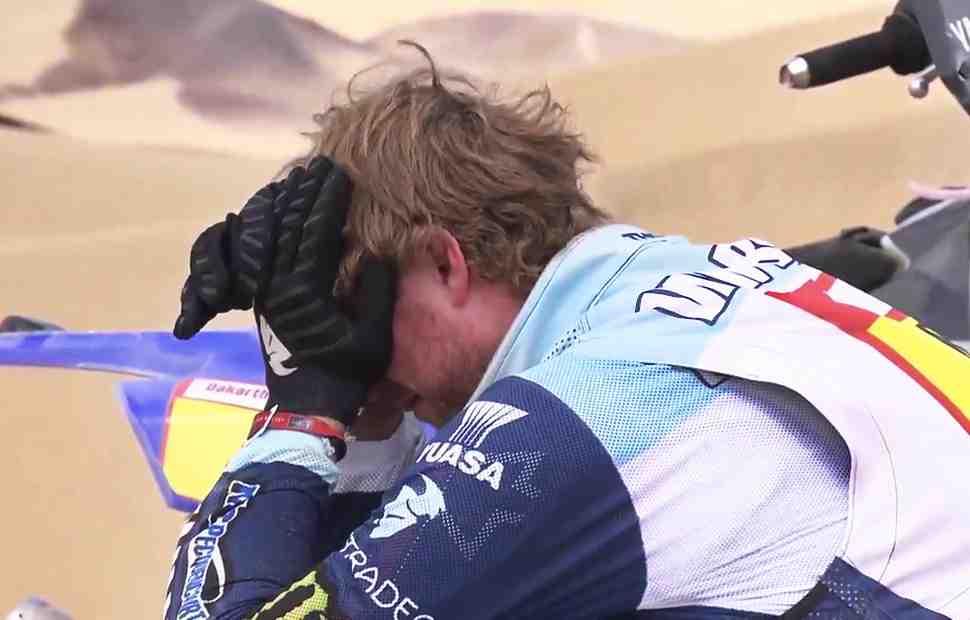 Дакар 2019: Ван Беверену удалось добраться до финиша СУ9