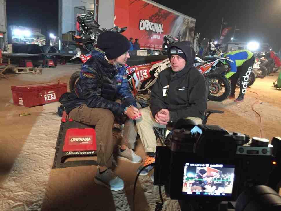 Дмитрий Агошков - как попасть на Дакар? Видео-интервью
